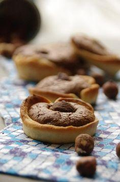 """""""Petites tartelettes aux moelleux au chocolat"""""""