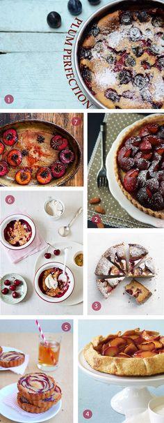 18 plum recipes  #6 is really # 4 - plum financiers