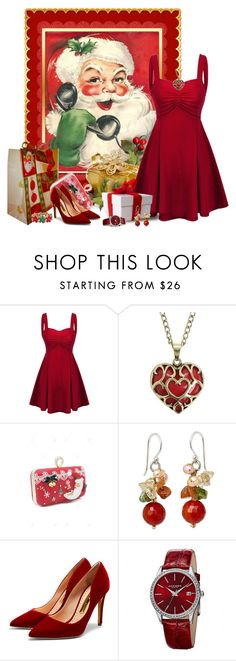 """Untitled #1682"" by tinkertot ❤ liked on Polyvore featuring Rupert Sanderson and Akribos XXIV"