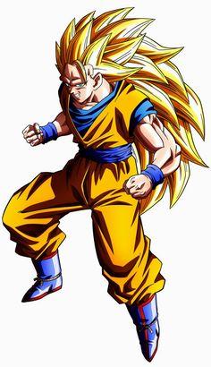 #Goku Ssj 3 v.2 by maffo1989