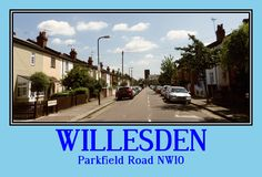 Parkfield Road. Willesden NW10