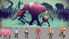 Zombie Rig - Maya rigs, Maya Character rigs, Free Maya rigs