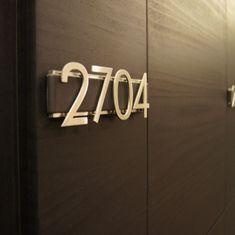 Room number Sofitel / Leather-Stainless steel