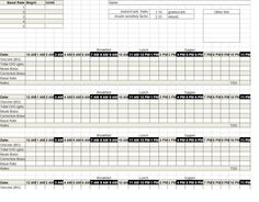 Diabetes Insulin Pump Log ~ Template Sample