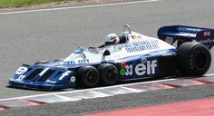 1977 - Tyrell P34 The Ten Weirdest Looking Race Cars