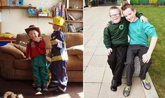 A Yorkshire lad with a big heart raises money for his twin brother with Down syndrome. http://dailym.ai/1xUj2Xo