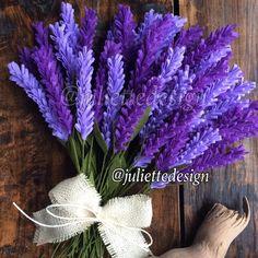 This item is unavailable Felt Lavender Lavender Felt Lavender Bouquet by juliettesdesigntr Paper Flowers Diy, Felt Flowers, Flower Crafts, Fabric Flowers, Origami Flowers, Lavender Bouquet, Lavender Flowers, Flower Bouquet Wedding, Felt Flower Bouquet