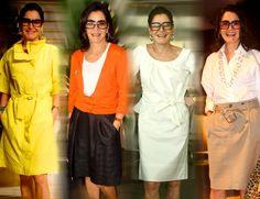 _culos_escuros_Gloria_Kalil 50 Fashion, Fashion Editor, Womens Fashion, Classic Outfits, Office Outfits, Comfortable Fashion, All About Fashion, Chic, Ideias Fashion