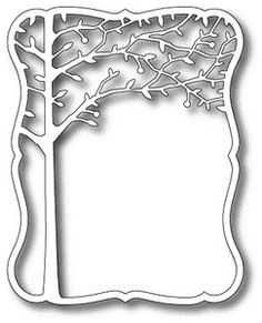 Memory Box ORCHARD TREE FRAME Craft DIE 98300