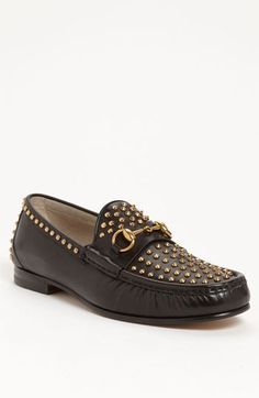 d634d88d9c1 Gucci  Roos  Studded Bit Loafer available at  Nordstrom Bit Loafers