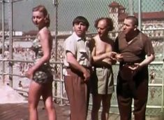 I love the Three Stooges. This is a home-made short filmed in 1938.  It isn't cool just because the three stooges (and a pretty lady) are in it, but also because it is a time capsule of sorts to a forgotten era. Click on the picture to go to the article with the actual clip.