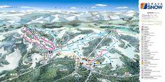 Wyświetl mapę tras w Orava Snow