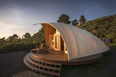 Stay in This Micro-Cabin on a Clifftop in California
