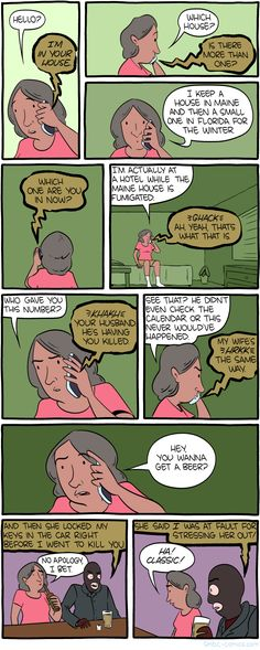 Out of courtesy, I should tell you that I have, in fact, poisoned your beer. Stupid Funny Memes, Funny Laugh, Funny Gifs, Funny Stuff, Comic Movies, Comic Games, Smbc Comics, Online Comics, Twisted Humor