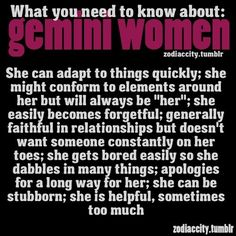 Gemini Women