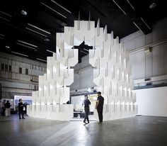 POPULOUS' INSTALLATION FOR THE WORLD ARCHITECTURE FESTIVAL
