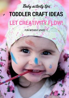 7 Great Toddler Craft Ideas - Screen-Free, Fun and Creative!