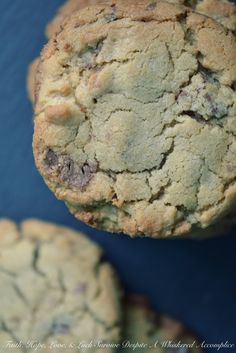 Jumbo Peanut Butter Cup Cookies | Faith, Hope, Love, and Luck Survive Despite a Whiskered Accomplice