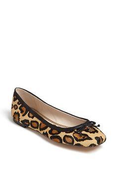 Sam Edelman 'Dominica' Flat available at #Nordstrom because every girl needs a little leopard in her closet!