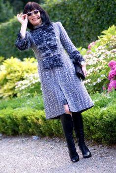 Chanel-style coat
