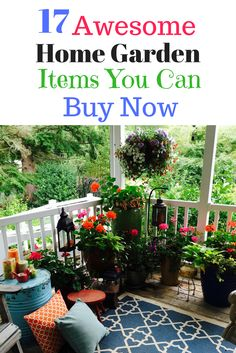 Home Garden Ideas - 17 Awesome Items You Can Buy Now
