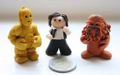 3PO, Han Solo and Chewbacca by Ompabop.deviantart.com