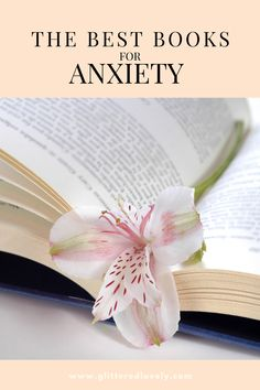 Sharing some books I've read to help with anxiety and living with fear.