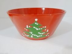 Waechtersbach Red Christmas Tree Salad Vegetable Bowl 9\  x 4 1/2\  W : waechtersbach dinnerware christmas tree collection - pezcame.com