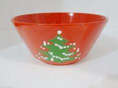 Waechtersbach Red Christmas Tree Salad Vegetable Bowl 9  x 4 1/2  W & christmas dishes - German Waechtersbach Dinnerware Christmas Tree ...