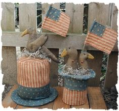 Google images of primitive sam wood patterns | PatternMart.com ::. PatternMart: Uncle Sam Hats with Crows