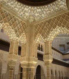 Palace of Alhambra - Granada, Spain #architecture, #travel