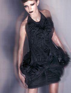 'mummification' - iris van herpen - haute couture 2009 - amsterdam