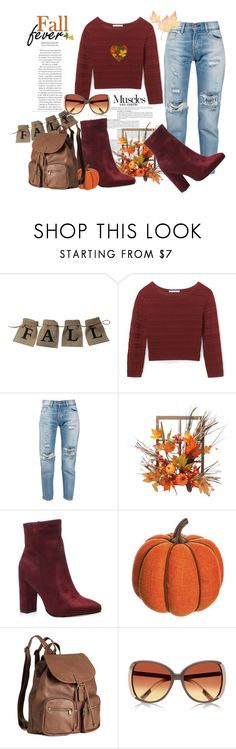 """Fall Fever"" by frustrated-designer on Polyvore featuring Anja, Rebecca Minkoff, Levi's, Harvest, Allstate Floral and H&M"