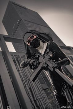 "slickcrust: "" Hitman Absolution Cosplay @ 2018 New Year's Day Firefly Anime Games Carnival, Guangzhou "" Character Concept, Character Art, Concept Art, Hot Nun, Photographie Indie, Latex Cosplay, Cyberpunk Girl, Photos Voyages, Let Them Talk"