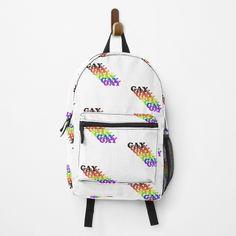 The Duff, Cotton Tote Bags, Chiffon Tops, Fashion Backpack, Gay, My Arts, Backpacks, Art Prints, Printed