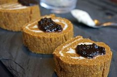 Grazed and Enthused | Pumpkin Roll | Cinnamon Molasses Spread [AIP/Vegan]