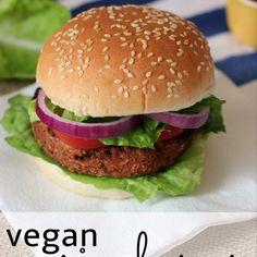 VEGAN RICE BURGER (vegan)