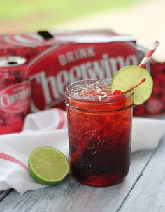 Cheerwine Cocktail Recipe | Our State Magazine | Cheerwine and bourbon? Sounds about right...