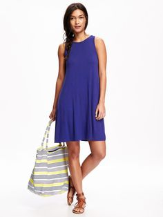Jersey Swing Dress for Women Product Image