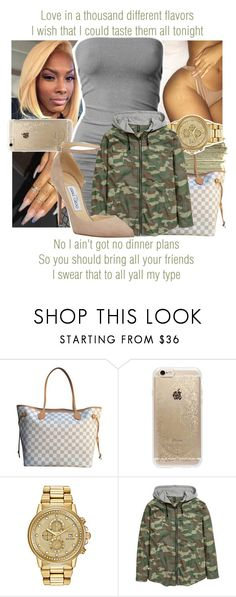 """""""Swalla x Jason Derulo ft. Nicki Minaj & Ty Dolla $ign"""" by juicyums ❤ liked on Polyvore featuring SEN, Louis Vuitton, Rifle Paper Co, Citizen and Jimmy Choo"""