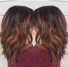 ombre hair ruivo em cabelo preto - Pesquisa Google