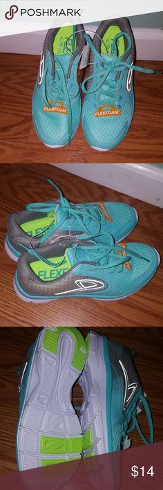 C9 flexfoam tenis Turquoise color flexfoam run shoes new c9 Shoes Athletic Shoes