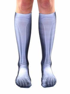 X Ray Knee High Socks