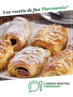 Pains au chocolat par thermomix. Une recette de fan à retrouver dans la catégorie Pains & Viennoiseries sur www.espace-recettes.fr, de Thermomix<sup>®</sup>.