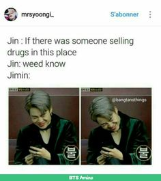 Jimin knows what's up
