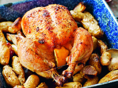 Think you've tried every type of roasted chicken recipe? Then you'll want to take a look at this recipe for Maple-Roasted Chicken with Maple Gravy!