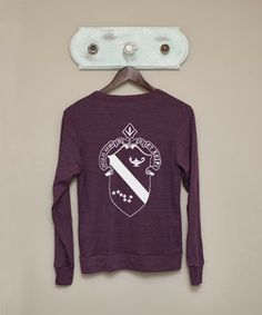 Alpha Phi Tri-blend Cardigan from The Greek Supply