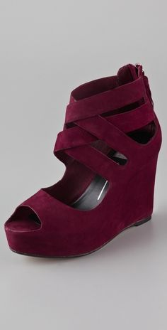 Dolce Vita Jade Nubuck Wedge Sandals thestylecure.com