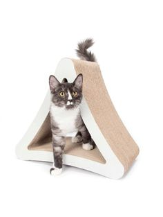 3-Sided Vertical Cat Scratcher and Post.