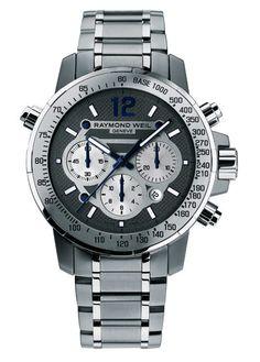 Raymond Weil    Nabucco chronograph automatic #luxurywatch #raymondweil Raymond-Weil. Swiss Luxury Watchmakers watches #horlogerie @calibrelondon